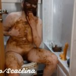 Dirty toilet (part 2) with ScatLina Pooping Girls [FullHD / 2020]