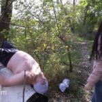My mouth is a chic female toilet! Domination Scat [FullHD / 2020]