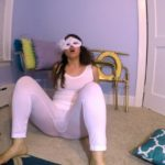 White Tights BUBBLE Guts with LoveRachelle2 Fart Porn [UltraHD/4K]