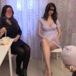 Chocolate lunch from Karina and Kamilla with MilanaSmelly eat shit [FullHD]