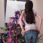 Alina crapped in jeans [HD]