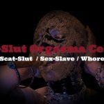 Scat swallowing and puke show with SlutOrgasma Sex-Slave